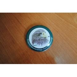 """Bielik- znaczek typu buton """"Przyjaciel DPN"""""""
